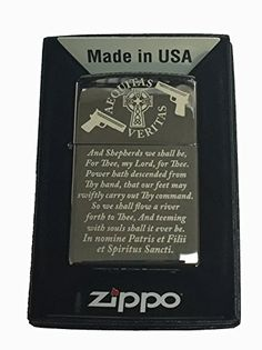 Boondocks Saints Prayer Zippo Lighter Black Ice * More info could be found at the image url.