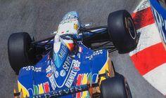 Michael Schumacher (GER) (Mild Seven Benetton Renault), Benetton B195 - Renault RS7 3.0 V10 (1ª terminado)  1995 Gran Premio de Mónaco, circuito de Mónaco   http://f1-history.deviantart.com/art/Michael-Schumacher-Monaco-1995-554058565