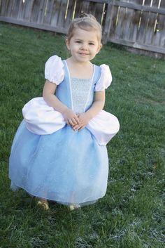 Cinderella Princess Dress - FREE Costume Pattern and Tutorial