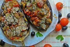 Barchette+di+melanzane+vegetariane