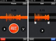 Record, edit, and resume on the go with the SoundCloud iOS + Android app.