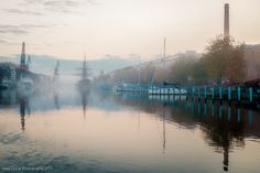 OCTOBER MORNING Cities In Finland, Turku Finland, Old City, Helsinki, October, River, History, Photography, Historia