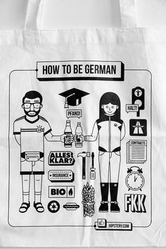 how to be a German!