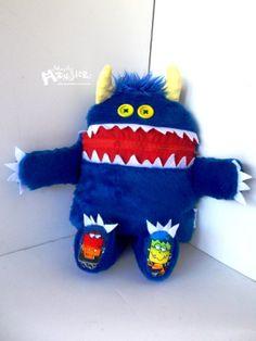 Cuddle Monster Pillow