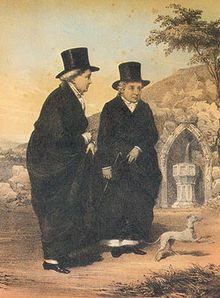 Eleanor Charlotte Butler (11 May 1739–2 June 1829)  Sarah Ponsonby (1755–9 December 1831) The Ladies of Llangollen were two upper-class women from Ireland whose relationship scandalised and fascinated their contemporaries.