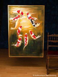 Painting, koi, fish, pond, aquarium, carp, koi, oil painting, picture, frame, 124 x 84cm - http://www.yourfishguide.com/painting-koi-fish-pond-aquarium-carp-koi-oil-painting-picture-frame-124-x-84cm/?utm_source=PN&utm_medium=http%3A%2F%2Fwww.pinterest.com%2Fpin%2F368450813235896433&utm_campaign=SNAP%2Bfrom%2BFish+-+Aquarium+-+Pond+Facts