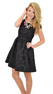 High Society Dress, Black