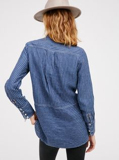 Charlie Railroad Pullover at Free People Clothing Boutique