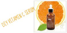 Instructions on a diy vitamin C serum.