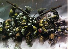 Orcs -Warhammer