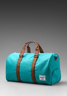 d80cdd4e6405 Novel Duffle in Teal Tan from REVOLVEclothing.com Travel Bags