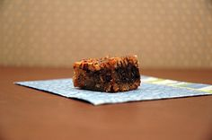 """Mexican Chocolate Pecan Bars - """"Nutty, Chocolaty, Salty and Sweet these bars are a hit!"""""""
