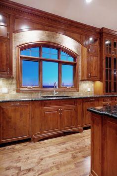 kitchen cabinets alder