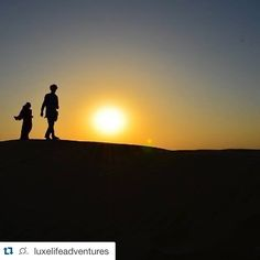 Sunset at the Sam Sand Dunes near Jaisalmer Rajasthan India ||   #repost #luxetraveler @nikhil_tailwal #luxelifeadventures #liveadventurously  #travelgram #travelblogger #bucketlist #wanderlust #adventurejunkie #thrillseeker #instatravel #traveljunkie #adventure #explore #traveltheworld #travelphotography #cntraveler #travelandleisure #travel #passportready #passportlife #journey #jaisalmer #rajasthan #india #samsanddunes #sunset by citywalkerapp