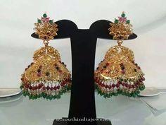 New Gold Jhumka Design, Gold Jhumka Model, New Jhumka Models, New Gold Jhumka Collections.