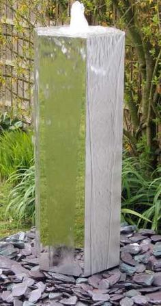 Causeway stainless steel water feature