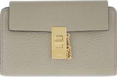 CHLOE - Drew medium grained leather wallet | Selfridges.com