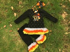 Check out this item in my Etsy shop https://www.etsy.com/listing/243971493/girls-halloween-boutique-dress-candy