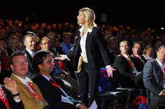 Interaktiver Vortrag mit 2.500 Teilnehmern