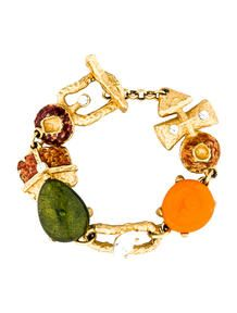 Christian Lacroix Enamel Bracelet