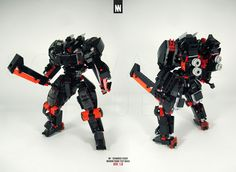 https://flic.kr/p/qT7AhQ | Schwarze Feuer | German - Black Fire Classification: Medium / Close Combat Specialist Armaments:  SW - MESSER02BF x2 Extra Equipment: AB - BLITZ01X (assault boosters) - - - Build notes: An alternate build of the Blaustrum. Wanted a specifically melee-type mech that didn't look too fragile and was more of an elite looking build.   Swords can be sheathed to the sides