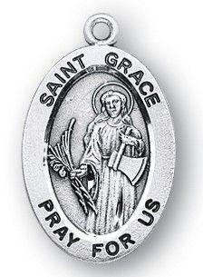 St. Grace Sterling Medal