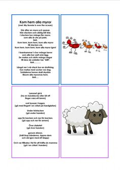 Mariaslekrum Learn Swedish, Swedish Language, Kindergarten, Singing, Preschool, Education, Learning, Musik, Pictures