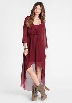 Prudence Asymmetrical Dress at #threadsence @threadsence
