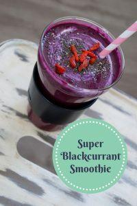 Super Blackcurrant Smoothie | www.health360.fi © Hanna Stolt