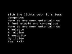 Nirvana - Smells Like Teen Spirit (lyrics) - YouTube