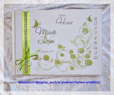 Gästebuch Hochzeit, Geschenk, Gästebücher, Farbwahl GB 68