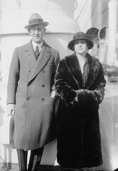Prince Andrew and Princess Alice of Greece and Denmark, parents of Prince Philip