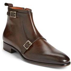 Men's Santoni 'Ciro' Double Monk Strap Boot (Men)