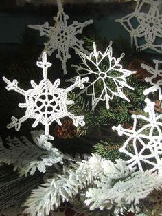 Christmas Snowflake Ornaments