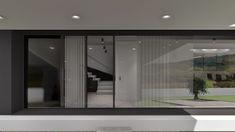 Projeto Rubi Architecture, Bathroom Lighting, Mirror, Furniture, Portugal, Landscaping, Home Decor, Houses, Minimalist Garden
