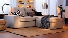 5 canapés pour un salon très confortable // http://www.deco.fr/diaporama/photo-5-canapes-pour-un-salon-tres-confortable-10508/canape-repose-pied-ikea-86516/ #canape #salon
