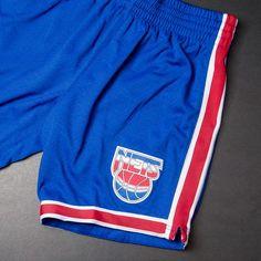 Mitchell & Ness NBA Authentic Shorts (New Jersey Nets) $125