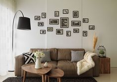 Image result for 室内设计 Brown Sofa, Living Room Sofa, Gallery Wall, Frame, Home Decor, Picture Frame, Decoration Home, Room Decor, Frames