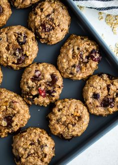 The Best Healthy Oatmeal Cookies Homemade Oatmeal Cookies, Healthy Oatmeal Cookies, Oat Cookies, Sugarless Cookies, Cookies Kids, Cookie Recipes, Baking Recipes, Biscuits, Cheesecake Fat Bombs