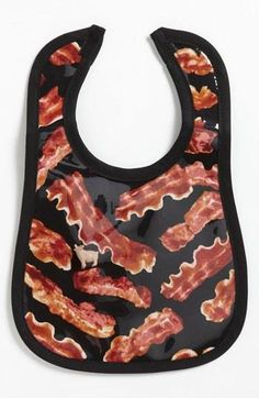 Ha! Bacon bib for ba