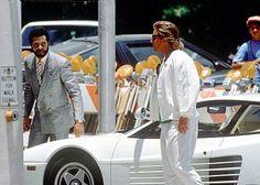 Grognards: La Ferrari di Miami Vice in vendita su E Bay a Don Johnson, Vice Tv Show, Nash Bridges, Vintage Outdoor Furniture, Miami Vice, Hugo Boss Suit, 80s Neon, Neon Noir, Tv Detectives