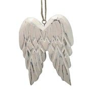Jolly & Joy Nordic Wooden Angel Wings Hanging Decoration