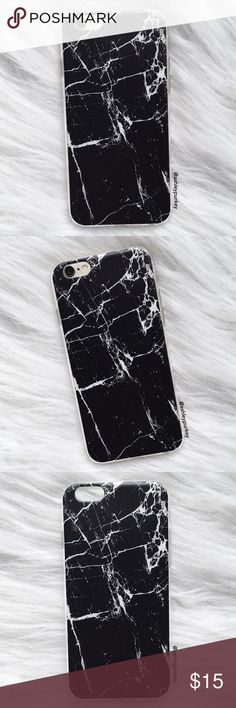 Cracked Marble IPhone 6 Case Dark Blue Plus 5S Gold 5C For Samsung Galaxy 7 00113