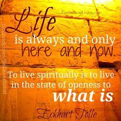 key words: wisdom spiritual prayer meditation life accept resist nothing