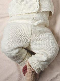 Ravelry: Babybyxor pattern by Minna Metsänen Needles Sizes, Leg Warmers, Baby Knitting, Pullover, Wool, Stitch, Pattern, Cotton, Crafts