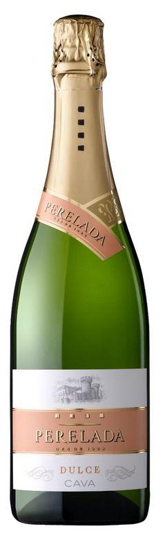 Nuevo Cava Perelada Dulce. Macabeu, Xarel·lo, Parellada. 62 gramos de azucar por litro. Wine Lover, Cocktails, Drinks, Sparkling Wine, Vodka, Champagne, Alcohol, Packaging, Bottle