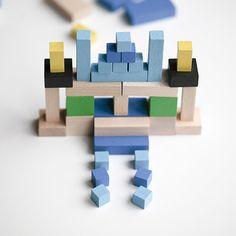 Mon Petit Art mini cubes spectre