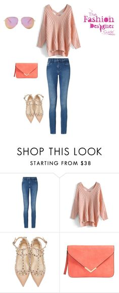 """Senza titolo #737"" by francy78 on Polyvore featuring moda, Calvin Klein, Chicwish, Valentino e Victoria Beckham"