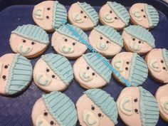 Baby face cookies.