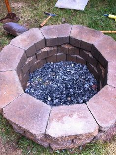 Nice, easy DIY fire pit.